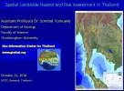 Spatial Landslide Hazard and Risk Assessment in Thailand
